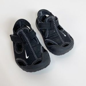 Nike Black Sunray Sandals Size 3 Unisex